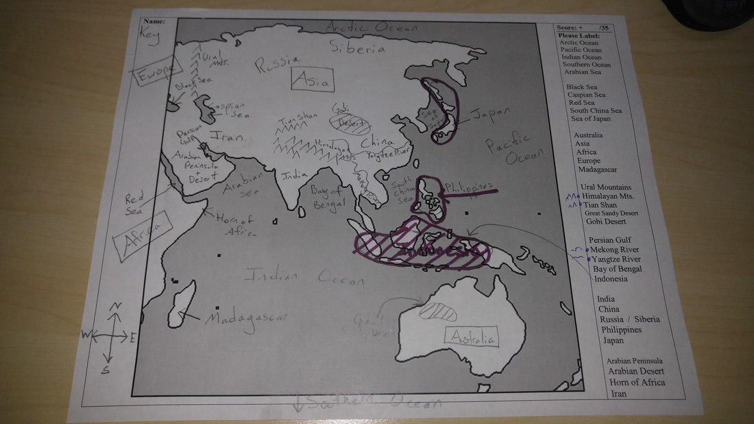 Geography chpcs 6th and 7th resources map project directions gumiabroncs Image collections